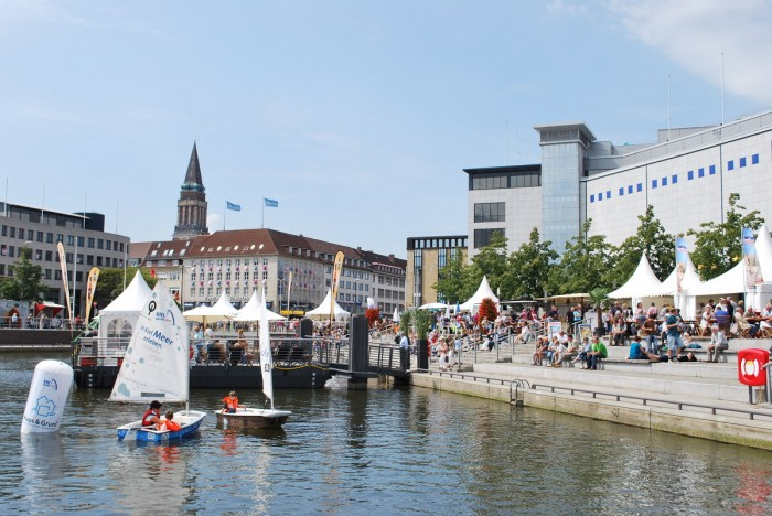 Kieler Bootshafensommer