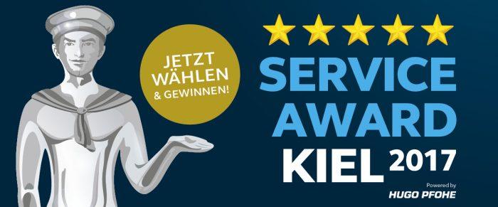 Service Award Online Banner - Jetzt wählen