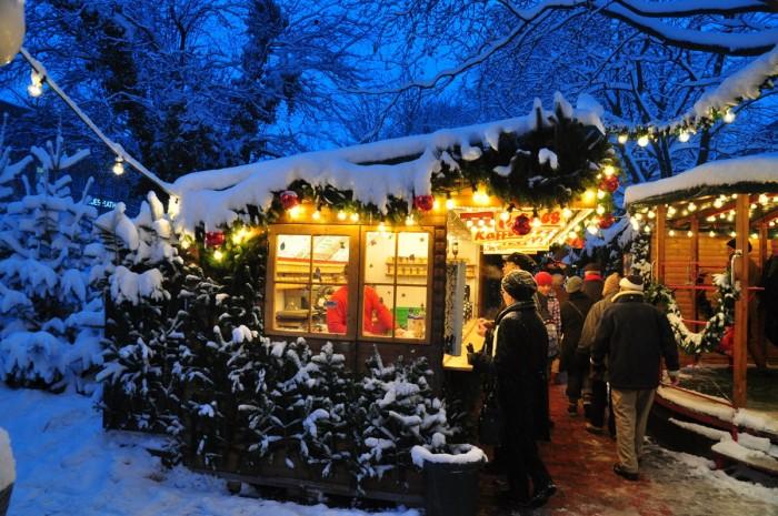 Der Kieler Weihnachtsmarkt